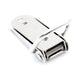 NAIERDI-J105 Cabinet Box Locks Spring Loaded Latch Catch Toggle 27*63mm Iron Hasps For Sliding Door Window Furniture Hardware