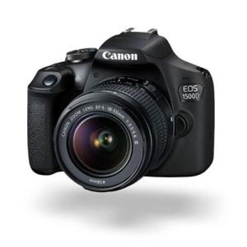 Canon EOS 1500D 24.1MP DSLR (EFS 18-55 III) Camera Digital