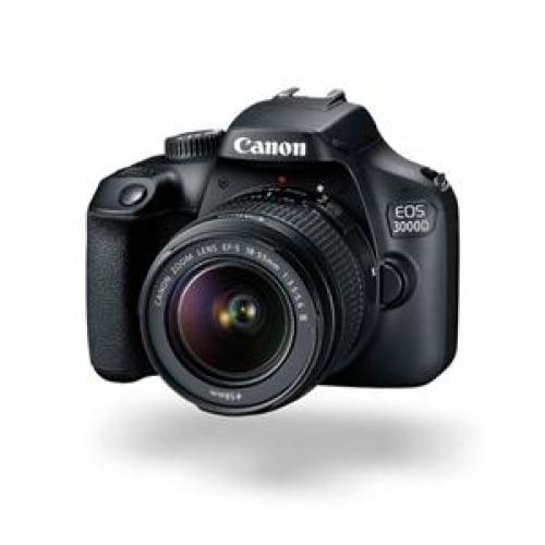 Canon EOS 3000D 18.0MP DSLR (EFS 18-55 III) Camera Digital