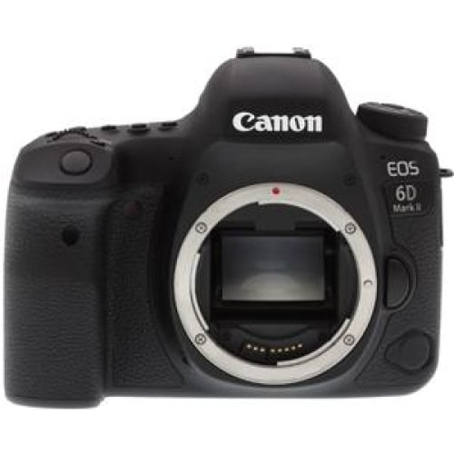 Canon EOS 6D Mk II 26.2MP Full Frame DSLR Camera Body Only