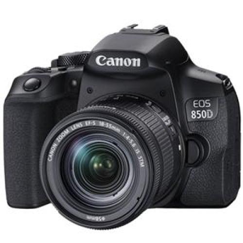 Canon EOS850D 24.1MP APS-C DSLR Camera w/18-55 IS STM Lens
