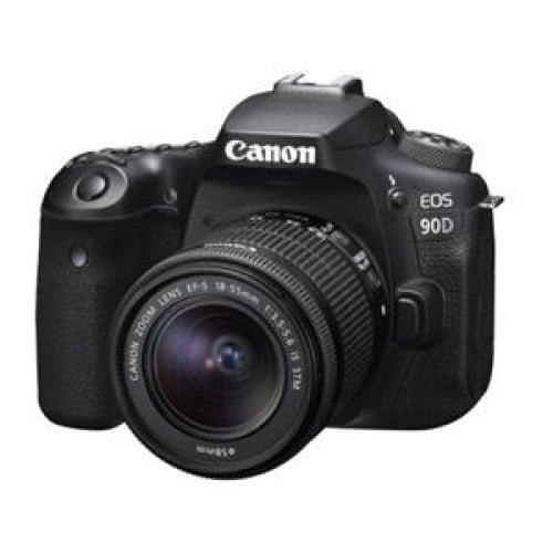Canon EOS90D 32.5MP APS-C DSLR Camera 18-55 IS STM Kit