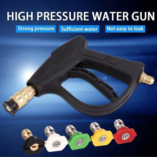 Car Washer Gun 3000 PSI High Pressure Cleaner With 5 Nozzles for Car Pressure Power Washers