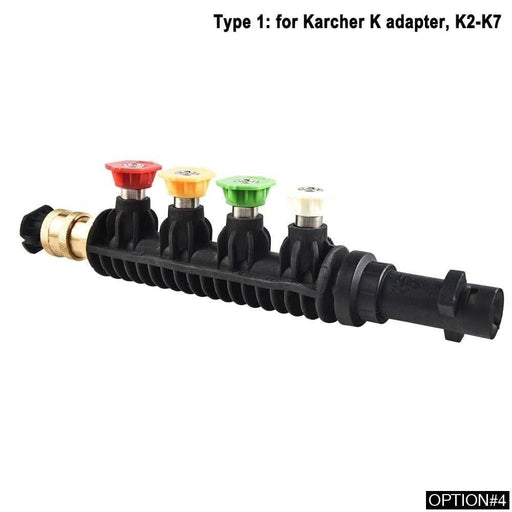 Car Washer Metal Jet Water Spray Lance Wand Nozzle for