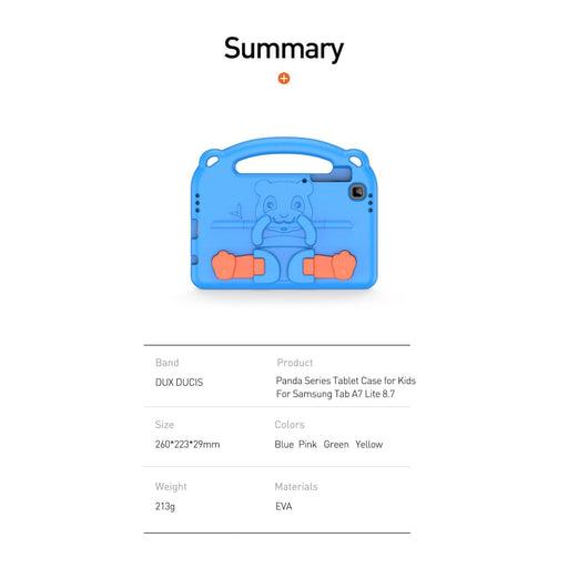 Cartoon Kids Stand Case for Samsung Galaxy Tab A7 Lite 8.7