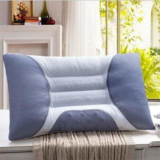 Cassia Health Cervical Pillow Pearl Cotton Core  Sleep Repair Neck Magnetic Pillow Single Size Bedding Pillows about 45X70CM (Grey about 45x70cm)