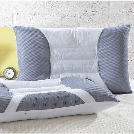 Cassia Health Cervical Pillow Pearl Cotton Core  Sleep Repair Neck Magnetic Pillow Single Size Bedding Pillows about 45X70CM
