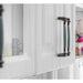 NAIERDI Ceramic Cabinet Knobs Handles Mediterranean Blue Gray Wardrobe Door Pulls European Furniture Handle Cabinet Hardware