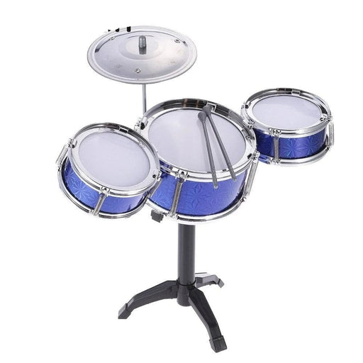 New Arrival! Children Kids Desktop Drum Set 3 Drums Musical Instrument Toy with Small Cymbal Drum Sticks