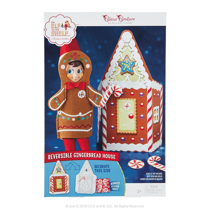 Claus Couture - Jolly Gingerbread Activity Set goslash fast delivery fast delivery