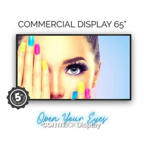 CommBox A8 Display 65 4K 24/7 5yr Wty Commercial Display LCD