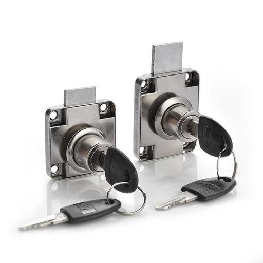 NAIERDI Copper Drawer Locks Cabinet Cupboard Desk Hasp Latch Home Cam Locks With 2 Keys For Wardrobe Furniture Hardware Mailbox