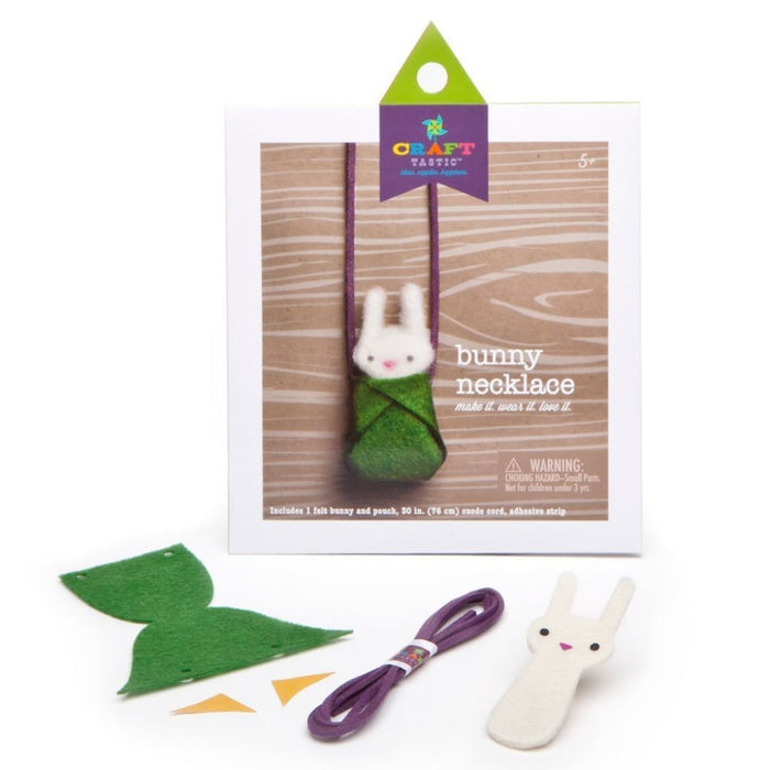 Craft-tastic Bunny Necklace Kit goslash fast delivery fast delivery