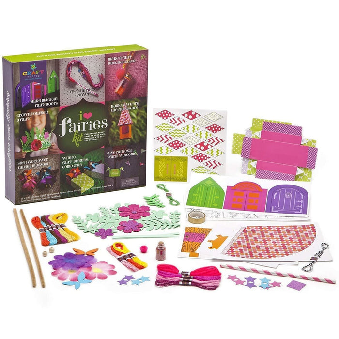 Craft-tastic I Love Fairies Kit goslash fast delivery fast delivery