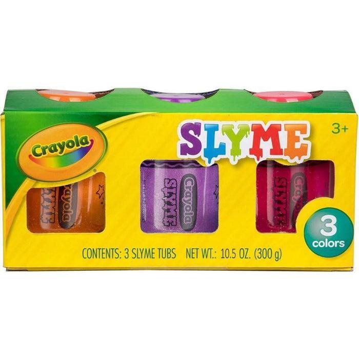 Crayola Sparkle Slyme   3 Pack - Red, Purple, Orange goslash fast delivery fast delivery