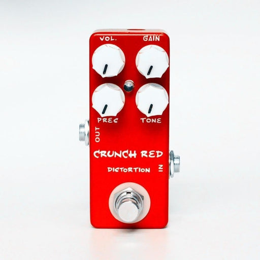 MOSKY Crunch Red Mini Electric Guitar Distortion Effect Pedal True Bypass Full Metal Shell Guitar Parts & Accessories
