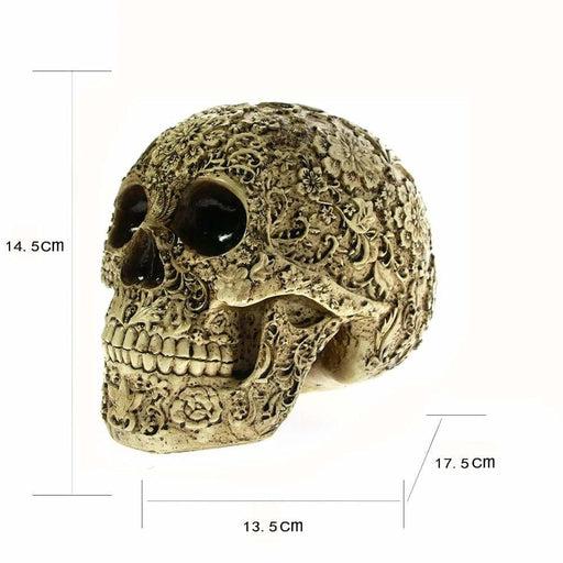 Day of the Dead Floral Skull - INTSKCRZ