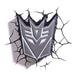Decepticon Shield 3D Deco Light goslash fast delivery fast delivery