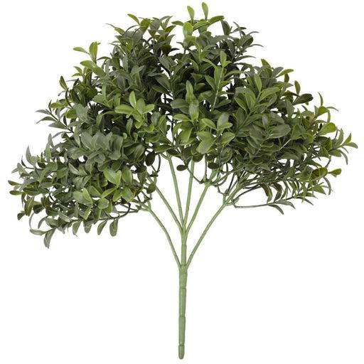 Dense Artificial Buxus Foliage 30cm UV Resistant