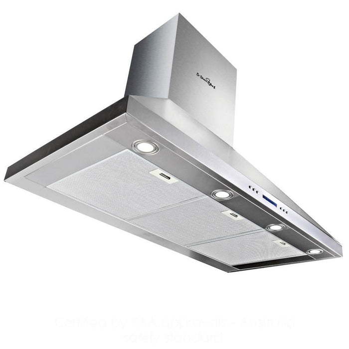 5 Star Chef 1200mm Commercial BBQ Rangehood - Silver goslash fast delivery fast delivery