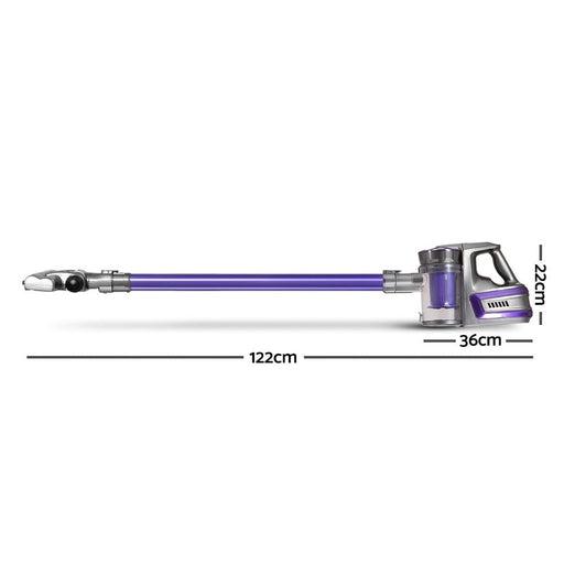 Devanti 150 Cordless Handheld Stick Vacuum Cleaner 2 Speed