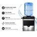 Devanti 2 in 1 Portable Commercial Ice Cube Maker Machine