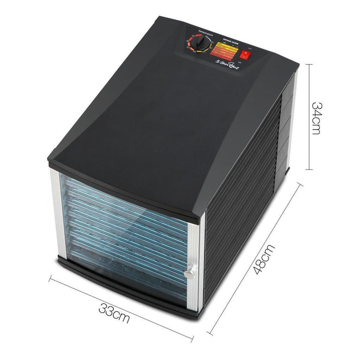 5 Star Chef Commercial Food Dehydrator with 10 Trays goslash fast delivery fast delivery