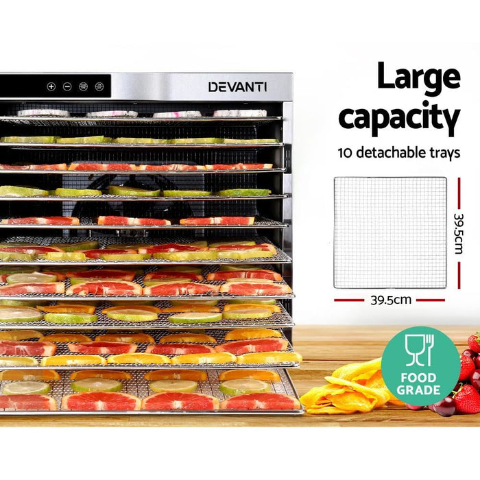 Devanti Commercial Food Dehydrator - Appliances > Kitchen