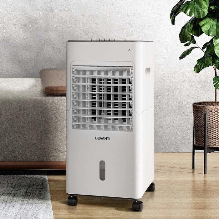Devanti Evaporative Air Cooler Conditioner Portable 6L