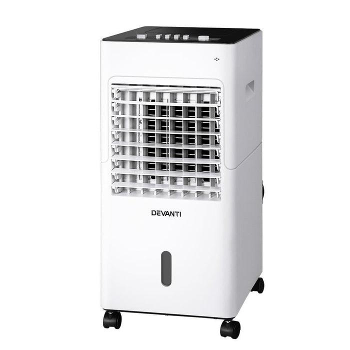 Devanti Evaporative Air Cooler Conditioner Portable 6L Cooling Fan Humidifier