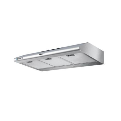 DEVANTI Fixed Range Hood Rangehood Stainless Steel Kitchen Canopy 90cm 900mm goslash fast delivery fast delivery