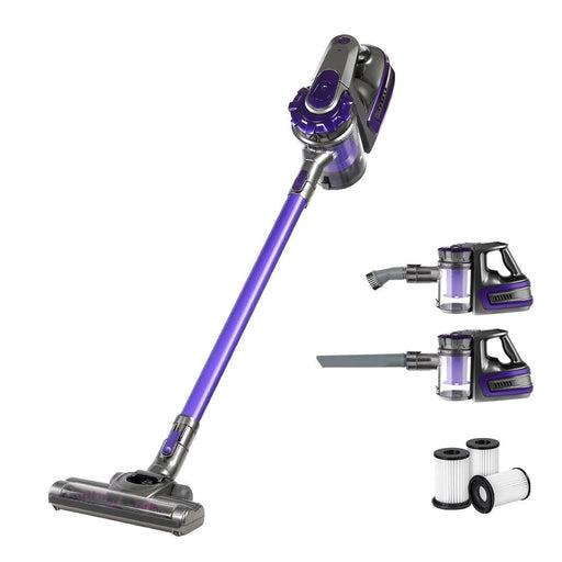 Devanti Handheld Vacuum Cleaner Stick Cordless Car Vacuum 2-Speed HEPA Filter