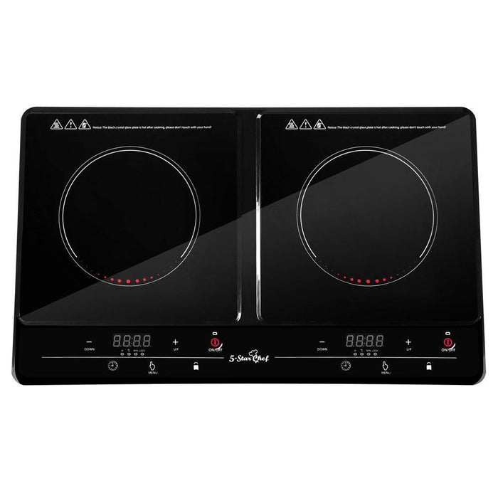 5 Star Chef Ceramic Electric Induction Cook Top Stove  - Black goslash fast delivery fast delivery