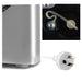 DEVANTI Portable Ice Cube Maker - Silver goslash fast delivery fast delivery