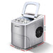 Devanti Portable Ice Cube Maker - Silver - Appliances >