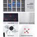 Devanti Stainless Steel Commercial Ice Cube Maker -