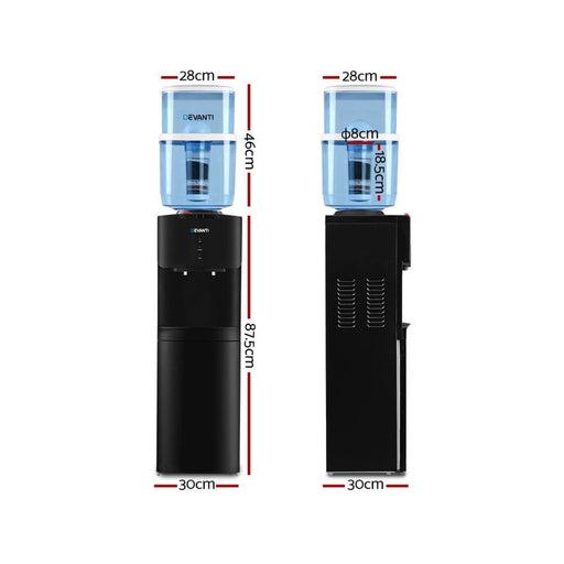 Devanti Water Cooler Chiller Dispenser Bottle Stand Filter