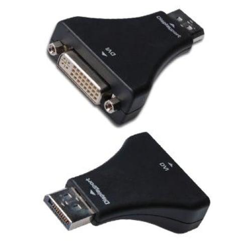 Digitus DisplayPort (M) to DVI-I (F) Adapter Cables -