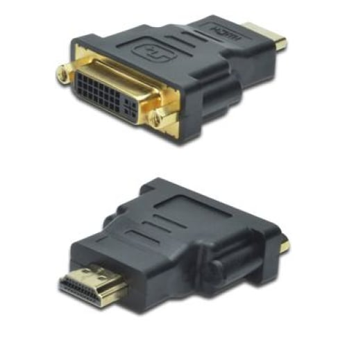 Digitus HDMI Type A (M) to DVI-I (F) Adapter Cables -