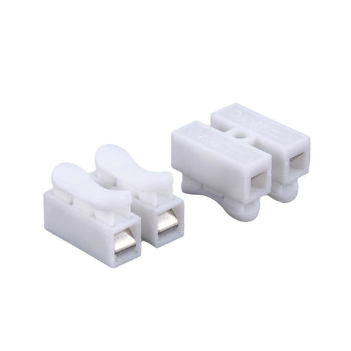 DIY 2pin spring Connector,wire connecting Easy to install no need soldering ,5pcs/lot