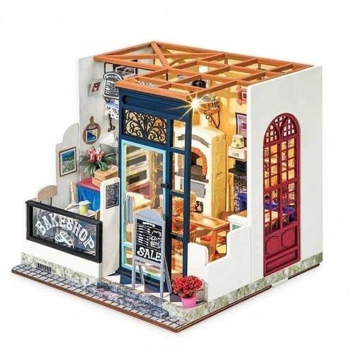 DIY Nancy's Bake Shop Doll House with Furniture Children Dollhouse