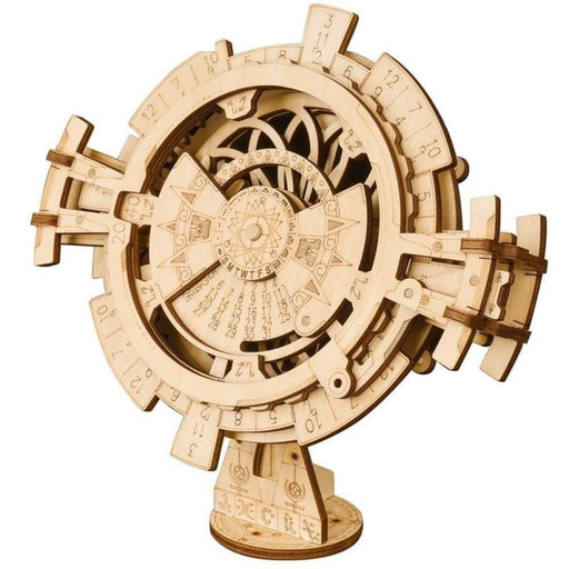 Diy Wooden Perpetual Calendar Model Building Kit -