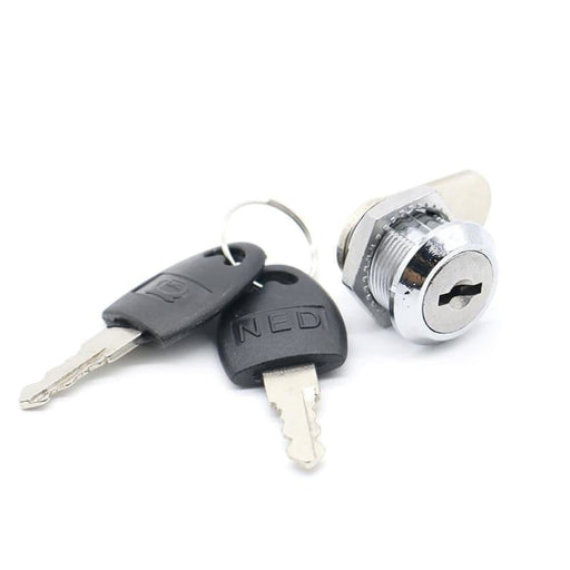 NAIERDI Cam Cylinder Locks Door Cabinet Mailbox Drawer Cupboard Padlock Security Locks With Plastic Keys Furniture Hardware