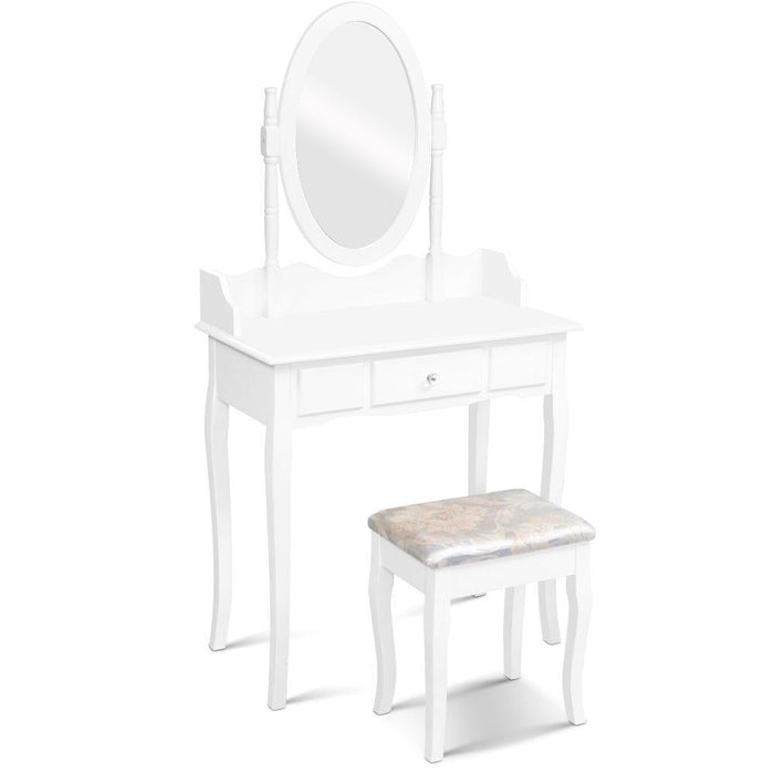 Dressing Table Stool Mirror Jewellery Cabinet Tables Drawer
