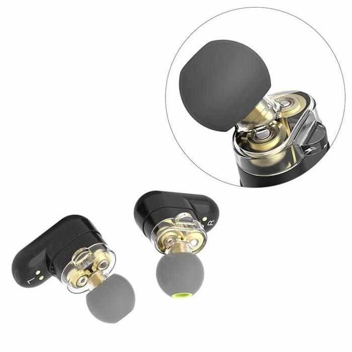 BlitzWolf® BW-FYE7 Dual Dynamic TWS Wireless bluetooth 5.0 Earphones Left Right Two Earbuds with Mic