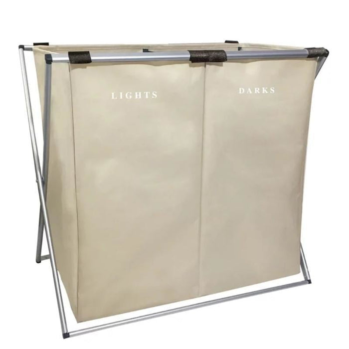 Dual Laundry Hamper goslash fast delivery fast delivery