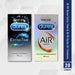 Durex Extra Time & 10pk Durex Air Condoms - Combo 20 Pack