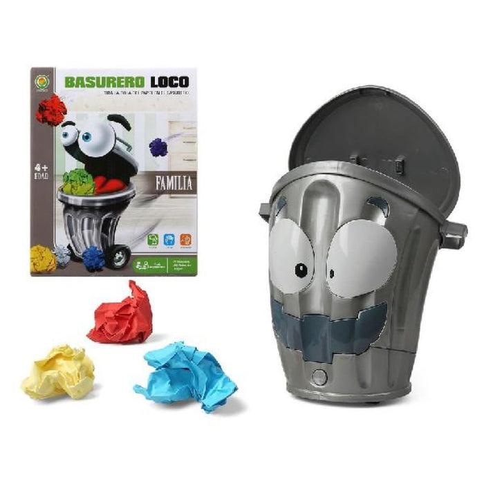 Educational Game Crazy garbage man (27 x 21 cm)
