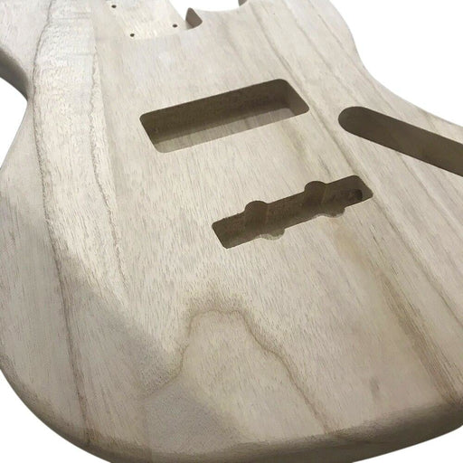 Electric Guitar Barrel Maple Polished Wood Type DIY Electric Guitar Body Barrel For JB Style Bass Guitar Guitarra Accessories
