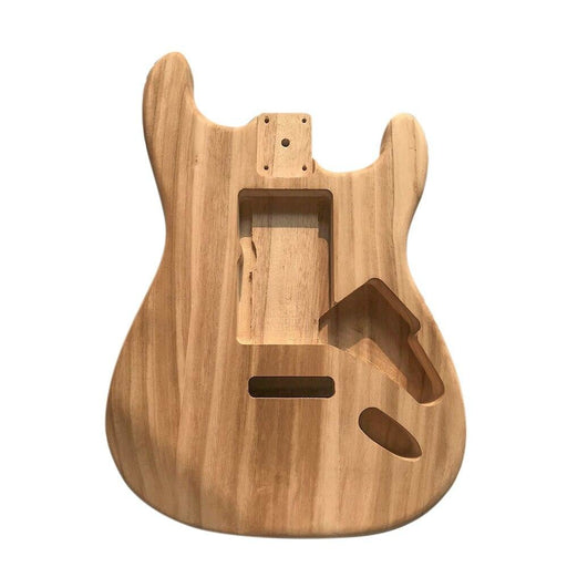 Electric Guitar Body Polished Wood Type Maple Unfinished  Electric Guitar Barrel Body Guitar Parts & Accessories